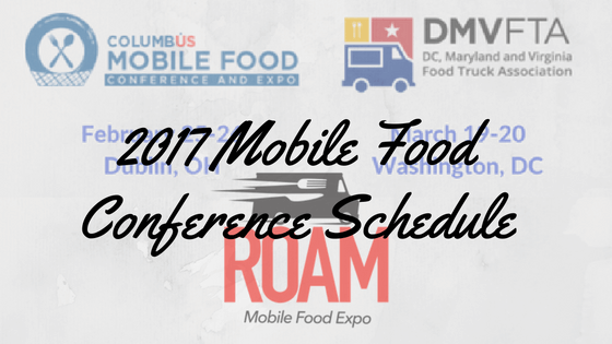 Insure My Food 2017 Mobile Food Conference Schedule